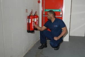 fire extinguisher installation London, Surrey & South-East
