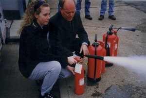 Dry powder fire extinguishers - a simple guide to dry powder