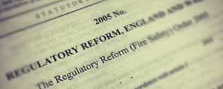 Fire safety legislation UK