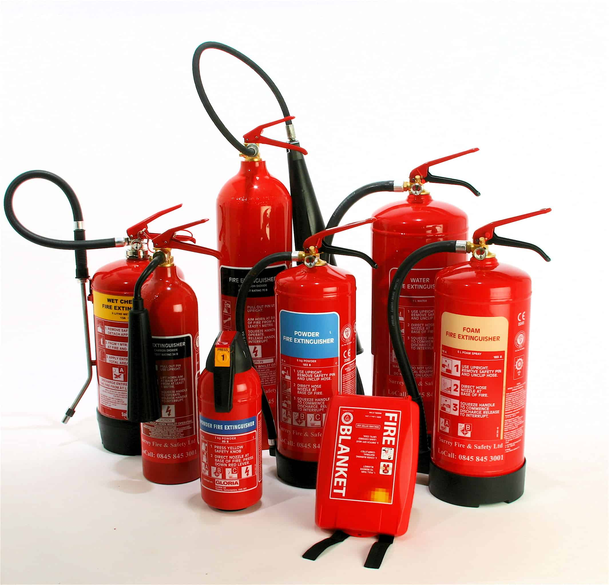 Fire extinguishers in Hampshire