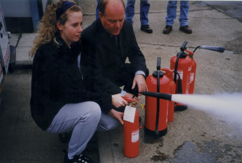 Fire safety training - London, Surrey & South-East img