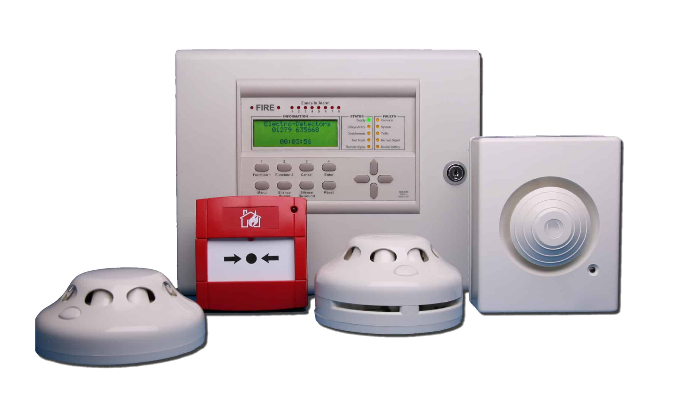 Fire alarm systems - London, Surrey & South-East img