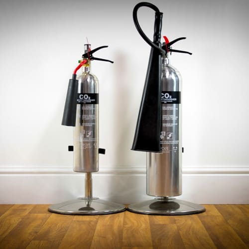 Stainless Steel fire extinguishers Notting Hill