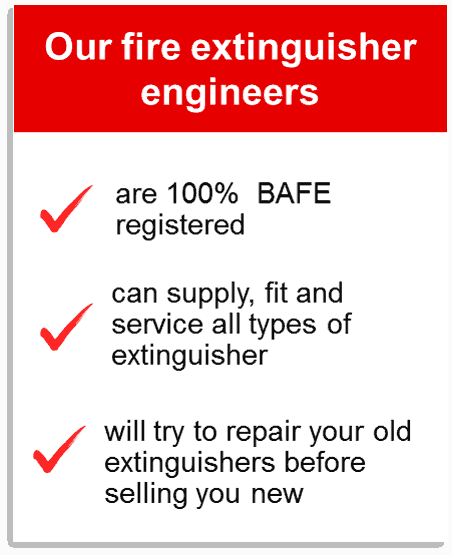 fire extinguisher engineer
