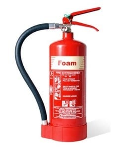 types of fire extinguisher - foam fire extinguisher - fire extinguisher types