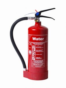 types of fire extinguisher - water fire extinguisher - fire extinguisher types