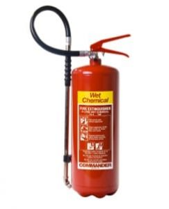 types of fire extinguisher - wet chemical fire extinguisher - fire extinguisher types