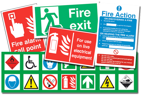 Fire Safety Signage Surrey Fire