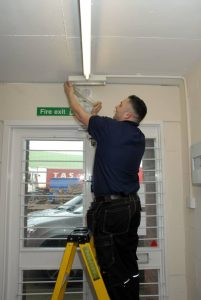 emergency lighting installation london, surrey, South-east