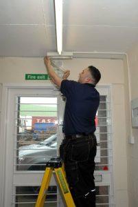 emergency lighting installation london, surrey, South-east