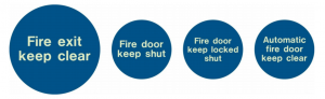 examples of mandatory fire door signs
