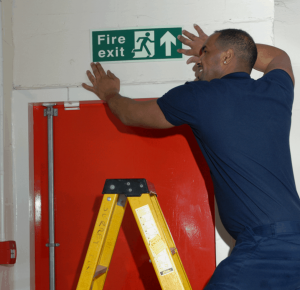 Safety signage in London, Surrey & the South-East