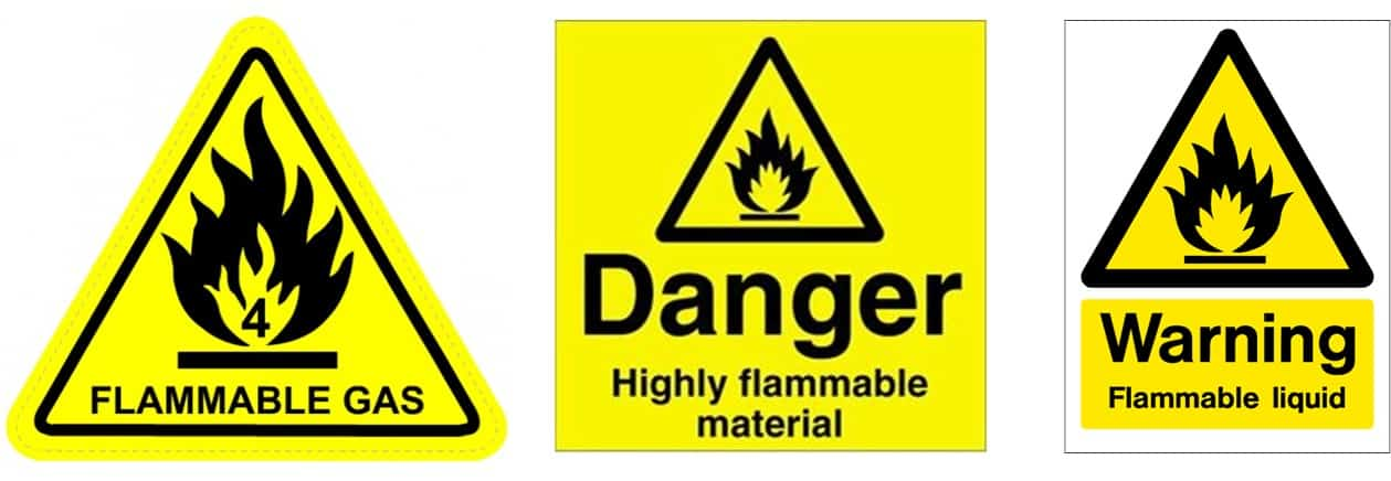 Fire Safety Warning Signs Surrey Fire