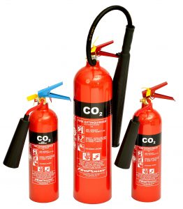 CO2 fire extinguishers - fire extinguisher regulations UK