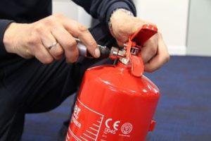 fire extinguisher commissioning uk