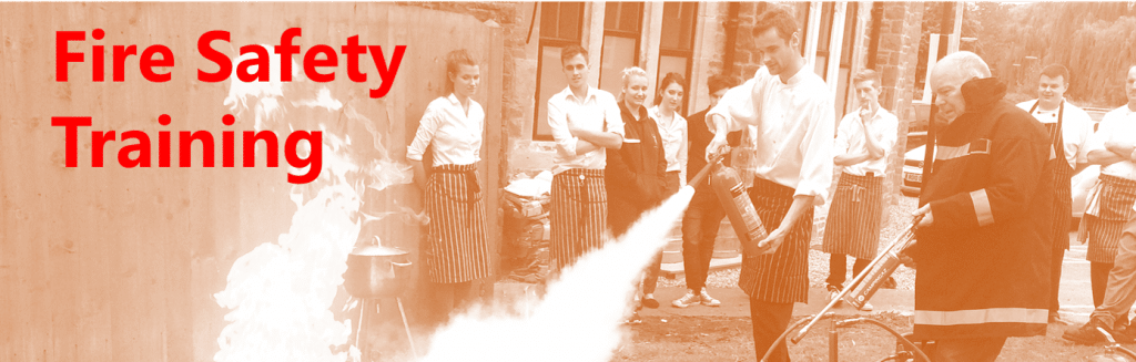 fire safety training and fire marshal training in London, Surrey & the South-East
