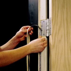 fire safety in tower blocks - fire doors and intumescent strips