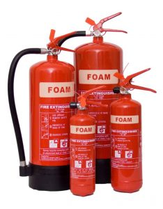 buy foam fire extinguishers London, Surrey, Hampshire, Berkshire