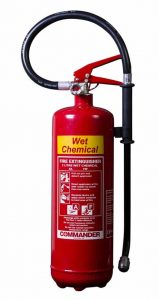 fire extinguisher colours - wet chemical extinguisher