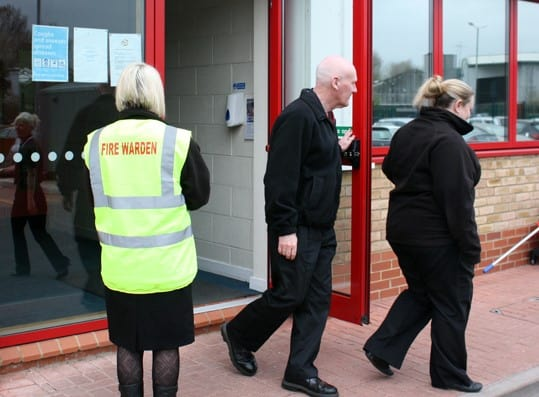 Annual fire marshal refresher training in Kingston upon Thames - public training open to all fire marshals and wardens