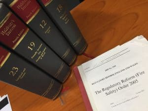 Fire regulations for offices - the RRO - Regulatory Reform Fire Safety Order 2005