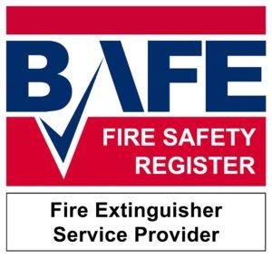 BAFE fire safety register - extinguisher service provider
