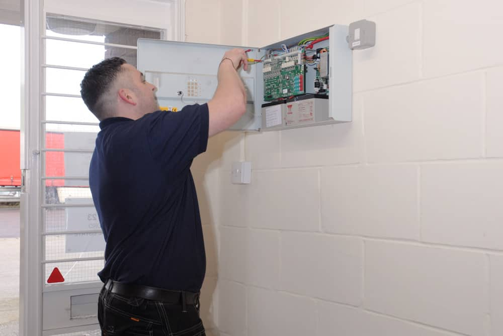 servicing an l2 category fire alarm system