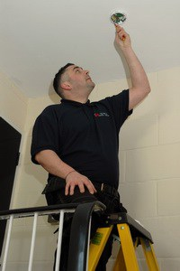 fire alarm installation London, Surrey, South-East